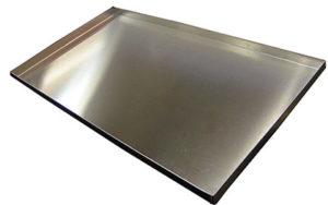 4 Sided Flat Baking Tray Aluminium 16 Inch - OTA4-16
