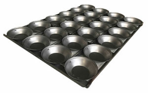 Pie Tray Round 16 Inch 3 Rows x 6 - Panglazed P11816P
