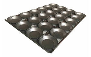 Pie Tray Round 16 Inch 3 Rows x 6 - Panglazed P31816P