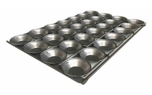 Pie Tray Round 16 Inch 3 Rows x 7 - Panglazed P52116P