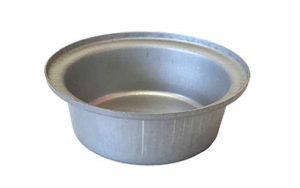 Single Self Cutting Pie Tin Round - Aluminised Steel - PP1