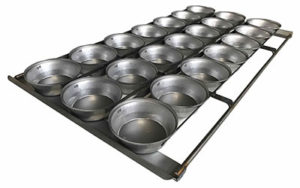 Pie Tray Round 16 Inch 3 Rows x 7 - Panglazed R12116P