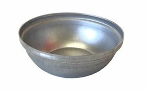Single Self Cutting Party Pie Tin Round - Aluminised Steel - R10