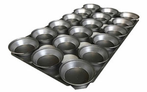 Pie Tray Round 16 Inch 3 Rows x 6 - Panglazed RB1816P