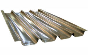 French Stick Tray 4 Impressions Aluminised Steel, 18 Inch - T4-18F