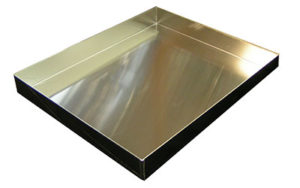 4 Sided Aluminium Tray Gastronorm, Lamington/Coffin - OTA4-2-GN