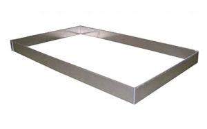 4 Sided Aluminium Tray Insert Gastronorm - TI-GN