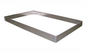 4 Sided Aluminium Tray Insert 16 Inch - TI-16