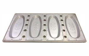 Vienna Loaf Pan Set of 4 - CAR/680-16""
