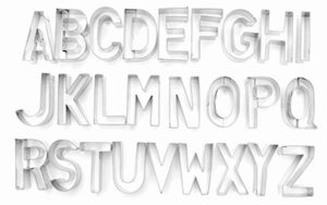 Cookie Cutter Alphabet Medium - CT71328
