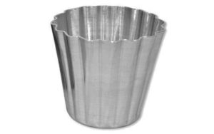 Dariole Mould Fluted 150ml - MDA167
