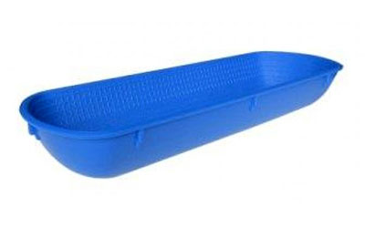 PP Plastic Proofing Basket Rectangle 14cm x 42cm