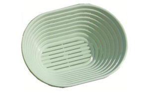 Plastic Proofing Basket Oval 21cm - 5 ONLY AVAILABLE