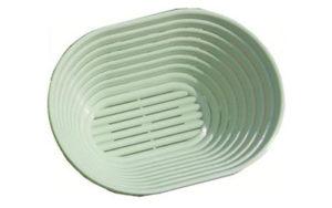 Plastic Proofing Basket Oval 21cm