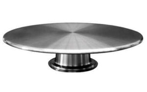 Cake Stand Turntable - Stainless Steel - LP22832