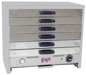 Roband Pie Warmer With Drawers - 80DT