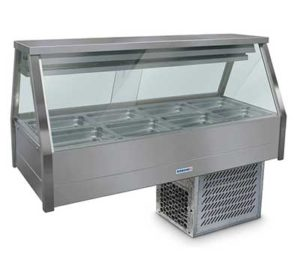 Roband Straight Glass Cold Food Display Bar - EFX24RD