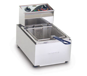 Roband Deep Fryer F15 - Single Pan 5 Litre Tank