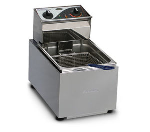 Roband Deep Fryer F18 - Single Pan 8 Litre Tank
