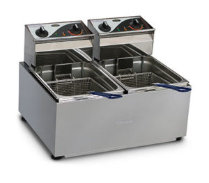 Roband Deep Fryer F28 - Double Pan 2 x 8 Litre Tanks