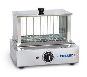 Roband Glass Steam Tank Hot Dog Warmer