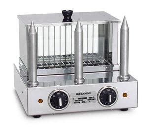 Roband Hot Dog Warmer With 3 Bun Spikes