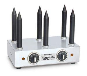 Roband Bun Warmer With 6 Teflon Bun Warming Spikes