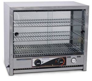 Roband Square Topped Pie & Food Warmer - PA40L