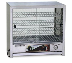 Roband Square Topped Pie & Food Warmer - PA50