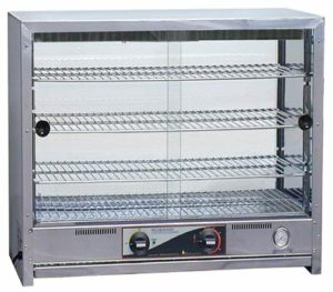 Roband Square Topped Pie & Food Warmer - PA80L