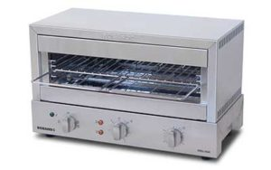 Roband Grill Max Toaster 8 Slice Capacity - Glass Elements