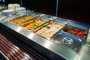 Hot Food Display Bars