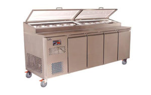 Koldtech Pizza Preparation Bench 2286mm Long - KT.PM.2286