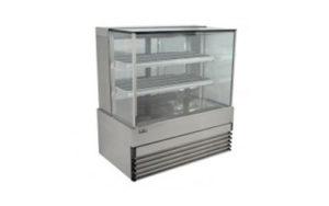 Koldtech Heated Display Cabinet 1200mm Wide - KT.SQHCD.12