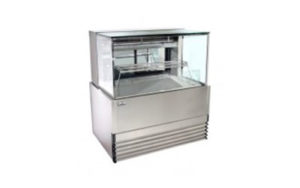 Koldtech Refrigerated Seafood Display Cabinet 1200mm Wide - KT.SQRCD.12.SF