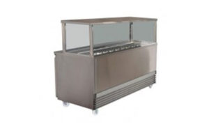 Koldtech Refrigerated Sandwich Preparation Bench - 1330mm Wide - KT.SQSM.1330
