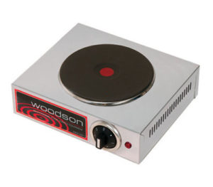 Woodson Single Boiling Hot Plate - W.BPS10