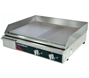 Woodson Half-Ribbed Griddle - W.GDA60HR