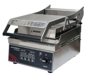 Woodson Pro Series Contact Grill W.GPC61SC - Single Top Plate