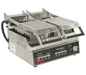 Woodson Pro Series Contact Grill W.GPC62SC - Twin Top Plates