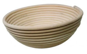 Rattan Proofing Basket Round 19cm