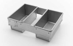 Bread Pan 2 Strap 700/900g - BP161/2