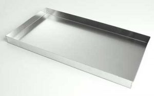 4 Sided Aluminium Tray Welded Corners 16 Inch Lamington/Coffin - BT4/16L