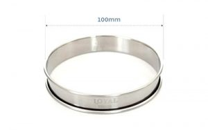 Crumpet Ring Stainless Steel - CRU100SS