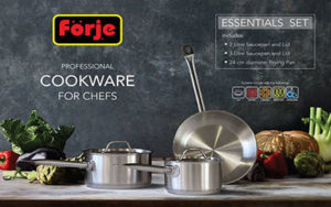 Forje Cookware Set 3 Piece - FK3