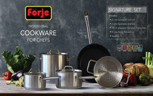Forje Cookware Set 5 Piece - FK5