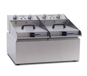 Roband Frypod Fryer FR28 - Double Pan 2 x 8 Litre Tanks