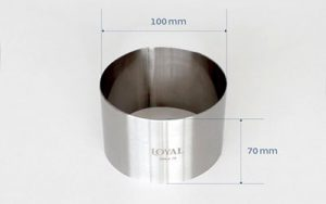 Food Stacker Cake Ring - 100mm