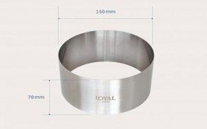Food Stacker Cake Ring - 150mm
