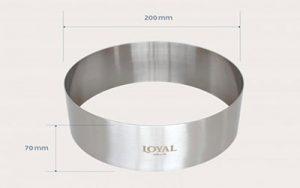 Food Stacker Cake Ring - 200mm
